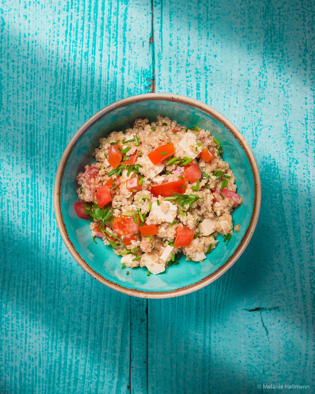 Vollkorn Quinoa Salat